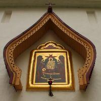 Икона над Святыми вратами  Петровской башни, Печоры