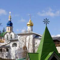 Pskovo-Pechersky a monastery., Печоры