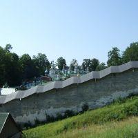 стена монастыря, Печоры