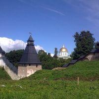 """Тарарыгина башня. Башня """"Верхних решеток"""".  Тайловская башня. Псково - Печерский монастырь, Печоры"""