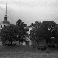 Порхов. Храм в крепости. 07/1956г., Порхов