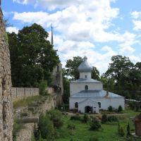 Никольская церковь Порховская крепость, Порхов