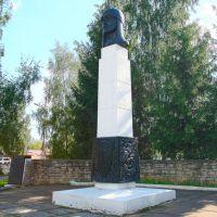 г. Порхов, памятник Александру Невскому, Порхов