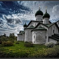 Church of Epiphany s Zapskovya, Pskov. Russia, Псков