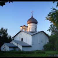 Pskov: Nikolskaya Church, Псков