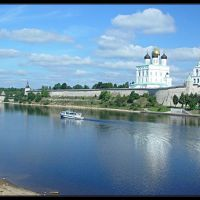 Pskov: the Krom view, Псков