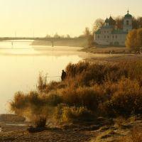г. Псков, вид на Мирожский монастырь, Псков