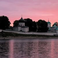 G-d of Pskov. Mirozhsky Monastery Г-д Псков. Мирожский монастырь, Псков