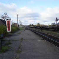г. Пустошка, станция, осень 2009, Пустошка