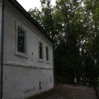 За Успенским храмом, Пушкинские Горы