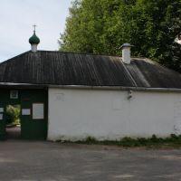 Monastery gate, Пушкинские Горы