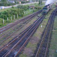 Pytalovo railway station (locomotives), Пыталово