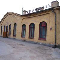 Abrene, dzelzceļa stacija, Пыталово