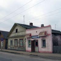 Сохранившаяся старинная еврейская лавка., Себеж