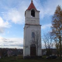 Колокольня собора Рождества Христова, Себеж