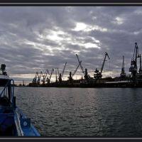 AZOV.AN IMPORTANT SEA-RIVER PORT IN RUSSIA, Азов