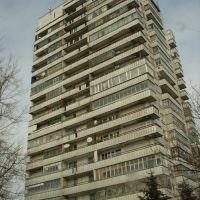 17-этажка в Аксае. Самое высокое здание в городе на протяжении несколькихдесятков лет., Аксай