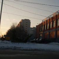 В Аксае зимним солнечным вечером. 28/01/2010., Аксай