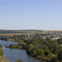 Панорамный вид на Белую Калитву, Аютинск