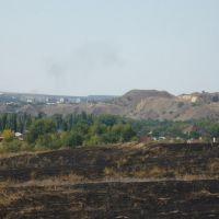 Вид на г. Белая Калитва с пос. Сосны, Аютинск