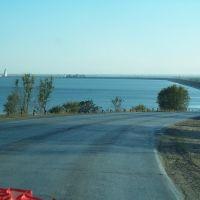 Вид на ГЭС, Аютинск