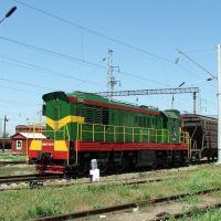 Diesel shunter ChME3T-6576, Батайск