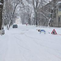 Воле дворца культуры зимой 2011, Белая Калитва