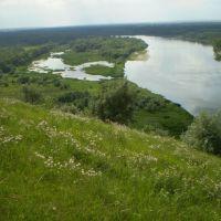 Вид на Дон с Кузнецовской горы, Боковская