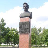 Bust of Sholokhov. Бюст Шолохову на родине, Вешенская