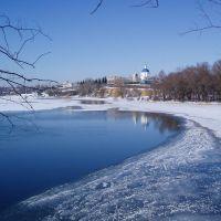 Вид на Вёшенскую со стороны Мигулянки, Вешенская