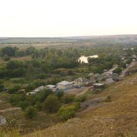 Вид с бугра на ул.Радниковая, Горняцкий