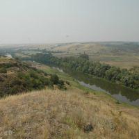 Вид на Крутинскую греблю, Горняцкий