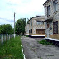 Позади здания музея, Гуково