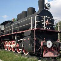 Памятник паровозу, Гуково