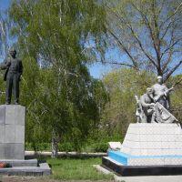 Памятник ЛЕНИНУ и павшим солдатам, Жирнов