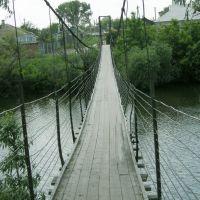 Подвесной мост ул.Ленина, Жирнов