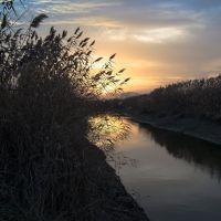 река Глубокая на закате, Заводской