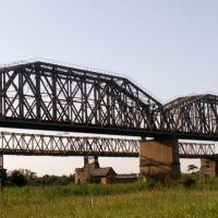 Ж.Д. мост через Северский Донец, Заводской