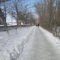 Тротуар, Зверево