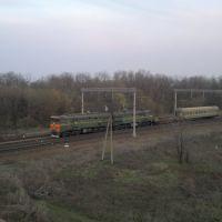 Поезд, Зверево