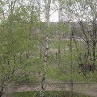 Вид из окна 2 школы, Зверево