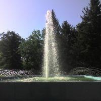 фонтан возле АЧГАА, Зерноград
