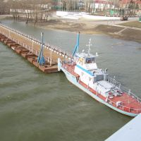 Старый понтонный мост, Казанская