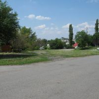 Вид с улицы Восточной, Каменоломни