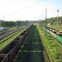 Железнодорожная станция, Каменоломни