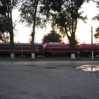 Красный поезд, Каменоломни