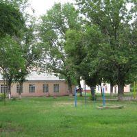 Школьный двор, столовая, Каменоломни