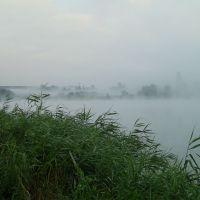 Мост через Донец утром, Каменск-Шахтинский