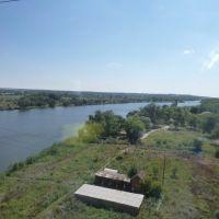 Вид с ж/д моста в Каменске, Каменск-Шахтинский