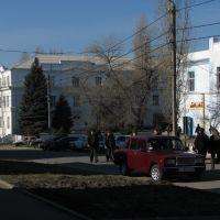 Константиновск. Ул. Ленина. Вид на школу №1 17/III.2007, Константиновск